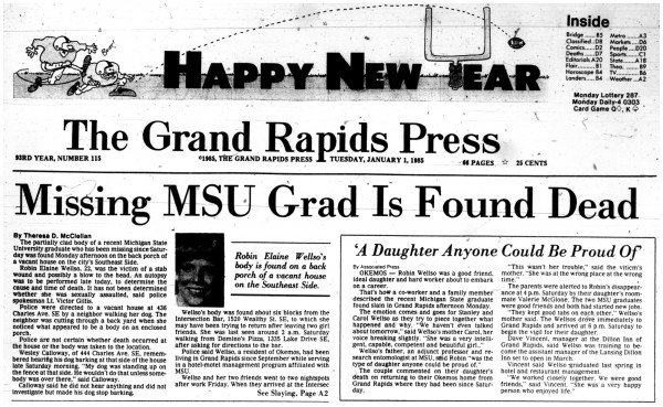 The Grand Rapids Press, January 1, 1985
