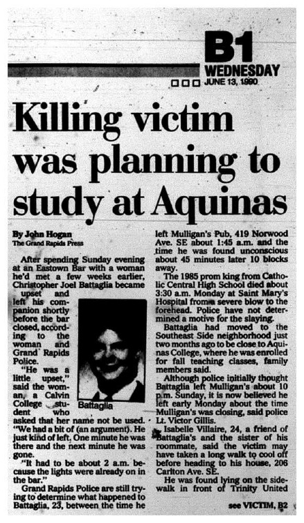 The Grand Rapids Press, July 13, 1990, page 1