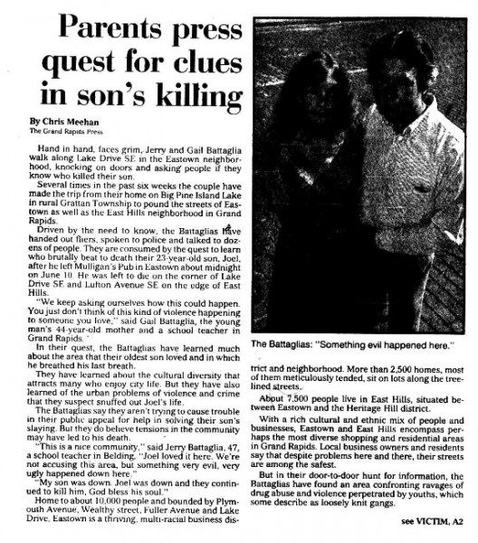 Grand Rapids Press, July 29, 1990