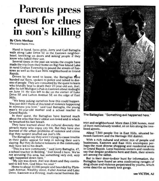 Grand Rapids Press, July 29, 1990