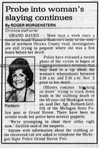 10 November 1989, Muskegon Chronilce