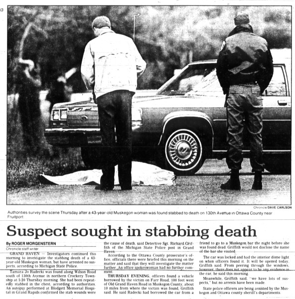 3 November, 1989, Muskegon Chronicle