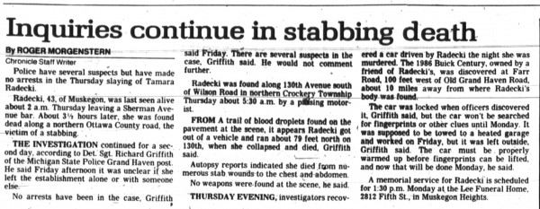 4 November 1989, Muskegon Chronicle