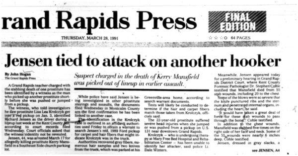Grand Rapids Press/28-3-91-1